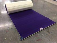 "EZ Flex 6'x42'x1"" Purple EVA Cheer/Gymnastics Carpet Bonded Foam  (Mat C43)"