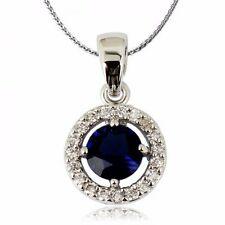 18K Gold GP SWAROVSKI Element Crystal Classic Solid Cubic Ring Pendant Necklace