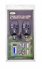 NGT Twin Bite Alarm & Indicator Set. VX2 Alarms with Batteries. Carp & Big Fish.