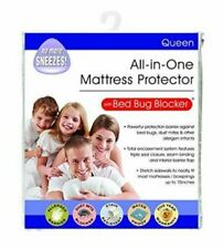 Bed Bug Blocker Hypoallergenic All In One Breathable Queen Mattress Cover Enc...