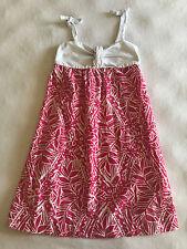 Lilly Pulitzer Annette Sun Dress Girls 5 Pink White Giraffe Summer Animal Print