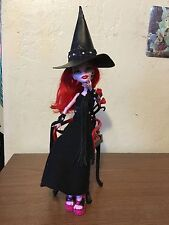 Halloween Witch With Hat, Broom,