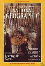 NATIONAL GEOGRAPHIC MARCH 1991, QUEBEC MAP, GIANT OCTOPUS, SANTA FE TRAIL, NEW