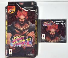 Super Street Fighter II 2 Turbo for 3DO - Longbox, game, manual