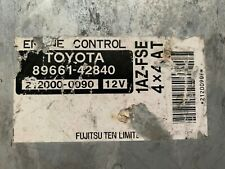 Toyota RAV4 1AZ-FSE Engine Control Module 89661-42840 8966142840