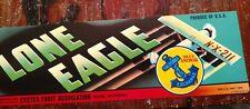 100 Mint Lone Eagle Grape Labels 1940'S California Lindbergh'S Plane Wholesale