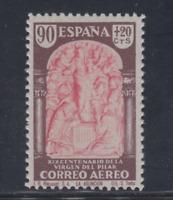 ESPAÑA (1940) MNH NUEVO SIN FIJASELLOS -EDIFIL 908 (90 cts+20 cts) PILAR LOTE 3