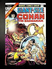 CONAN GIANT-SIZE 4 (6/75 9.6!! non-CGC) GIANT SQUAREBOUND BRONZE! GIL KANE ART!!