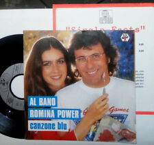 "AL BANO & ROMINA POWER CANZONE BLU / GRAZIE 7 "" SINGLE + INFO"