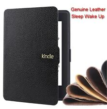 Genuine Leather Case Cover For Amazon Kindle Paperwhite 123 Kindle Voyage