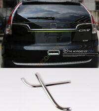Stainless Steel Rear Door Rear Door Trim 2pcs For Honda CRV CR-V 2012 2013 2014