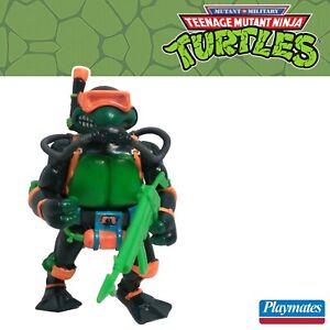 TMNT Mutant Millitary II Navy Seal Mike 100% complete 1992 ninja turtles