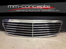 Kühlergrill Grill für Mercedes W211 E Klasse Frontgrill AMG 55 Avantgard Schwarz