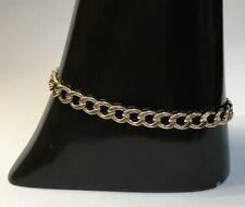 Ladies 9ct Gold Curb Bracelet - 242400