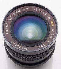 Porst Extrem-WW 24mm 24 mm 1:2.5 2.5 MC Auto I - M42 Anschluss