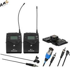 Sennheiser EW 122P G4 Camera-Mount Wireless Cardioid Lavalier Microphone System
