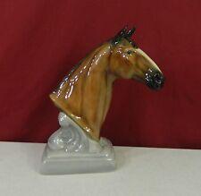 Gort Bone China Company Horse Head Bust