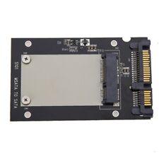 "mSATA SSD to 2.5"" SATA Drive Converter Adapter Card plug and play 50mm x 30mm"