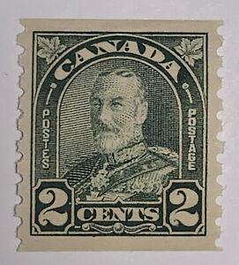 TRAVELSTAMPS: CANADA  SCOTT #180 ARCH LEAF COIL 1930-31 KGV ISSUE MNH OG