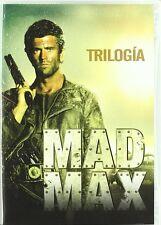 MAD MAX TRILOGIA DVD PACK COLECCION 1 2 3 NUEVO ( SIN ABRIR ) MEL GIBSON