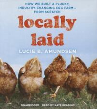 Locally Laid by Lucie B. Amundsen 2016 Remainder Book  Free U.S. Shipping Fowl