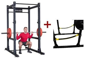 Body-Solid SPR1000SS Commercial Power Rack w/Power Rack Strap Safeties (New)