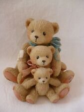 Cherished Teddies -- 3er Familiy -- Teddy , Teddybär , Bär