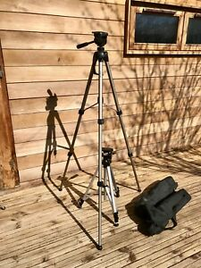 HAMA STAR 63 CAMERA VIDEO TRIPOD FREE CARRY BAG and free tripod exc condition