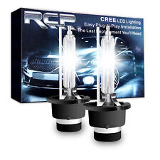 2x 6000K D2S D2R Xenon HID Bulbs Headlights Head Lamps Pure White Replace 1:1