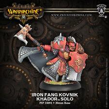 Warmachine BNIB - Khador Solo Iron Fang Kovnik