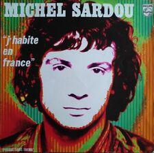 Michel Sardou - J'habite en France - Vinyl LP 33T
