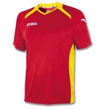JOMA CHAMPION II SHORT SLEEVED FOOTBALL SHIRT - RED / YELLOW - 2-4