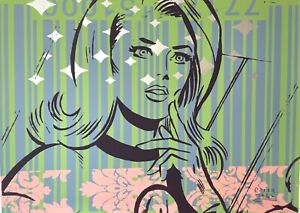 Peter Mars Art Invisible Woman Superheroes Girls Room Comic Books Superpower