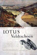 1954 LOTUS Veldtschoen Shoes Advert 'Symond's Yat' - Rowland Hilder Art Print AD