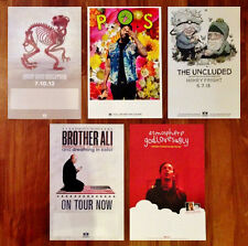 RHYMESAYERS New Ltd Ed RARE Posters Lot! ATMOSPHERE P.O.S AESOP ROCK BROTHER ALI