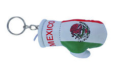 Keychain Mini boxing gloves key chain ring flag key ring cute mexico mexican