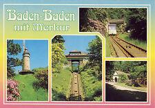 AK: Baden-Baden mit Merkur