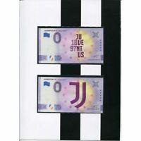 Album Officiel Juventus Zero Avec 2 Billets de Banque 0€