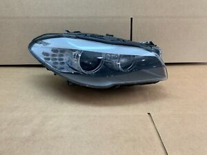 OEM 2011 2012 2013 BMW 528i 535i 550i XENON HEADLIGHT SEDAN COMPLETE RH NICE!!