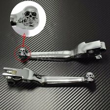 Chrome Hand Brake & Clutch Levers FOR Harley FLHR Road King Models Softail UPS