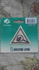 Brownie Girl Scouts ECO-EXPLORER Badge Try It Iron On Emblem Patch NIP