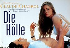 Die Hölle Claude Chabrol L'Enfer Presseheft Pressbook Emmanuelle Béart F. Cluzet
