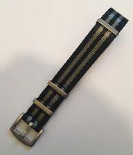 High Quality NATO 007 James Bond Thick Military Nylon Strap 18mm Omega, Rolex