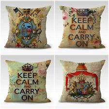 Us Seller- 4pcs bedroom decorative pillows cushion covers European retro