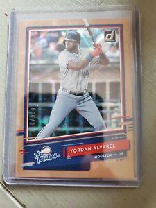 2020 Donruss Yordan Alvarez The Rookies 910/999