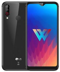"LG W30 LMX440IM 32GB 3GB RAM (FACTORY UNLOCKED) 6.26"" Blue Green Gray"