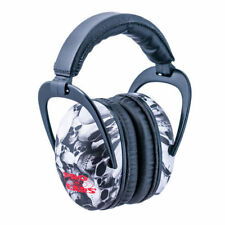 SKULLS Shooting EAR PROTECTION Adult Youth Skeet Trap Hunting Collapsible Muffs