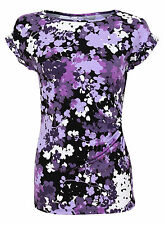 Cap Sleeve Floral Singlepack Tops & Shirts for Women