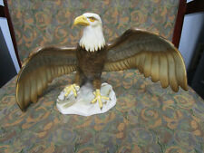 Herend Eagle Kingdom Classic  2008 Porcelain Figurine Signed by the Artist