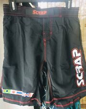 New! Scrap Mma Fight Board Short No Gi 28 30 32 34 36 38 40 42 Clearance!